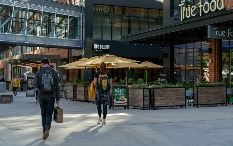 Nearby Retail And Dining At Ballston Quarter Near J Sol Apartments In Arlington, VA